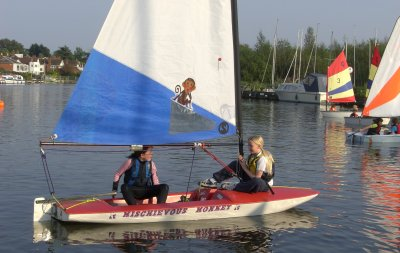 sailing at Horning